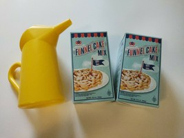 Fun Pack Foods (2) Funnel Cake Mix 13.5 Oz and One Pitcher - $33.32