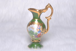 Vintage Collectible Miniture Pitcher Made in Limoges France Victorian Co... - $19.00