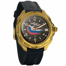 Vostok Komandirskie 219260 Military Russian Army Mechanical Mens Wristwa... - $36.18