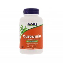 NOW Supplements, Curcumin, derived from Turmeric Root Extract, 60 Veg Capsules - $69.28