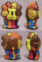 """Romero Britto Mini Lion """"Cavendish""""  Figurine #331846 Rare Retired Collectible image 2"""