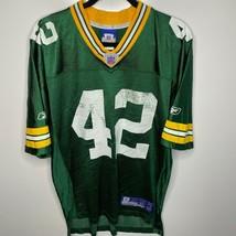 Reebok Football Jersey Men's M Green Green Bay Packers #42 Darren Sharper - $19.31