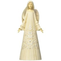 """Foundations Simply Inspired Act of Kindness Angel Stone Resin Figurine, 7.5"""""""