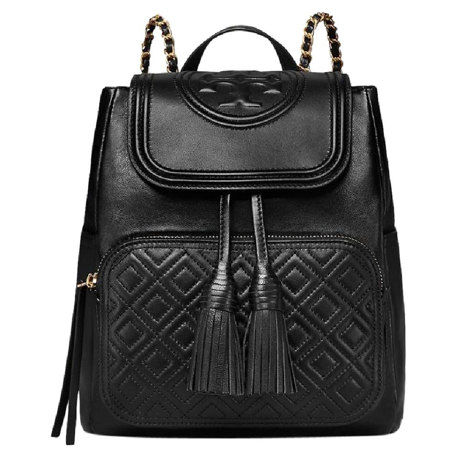 9c90c7989887 New Tory Burch Fleming Backpack Leather and 50 similar items. Backpack blk