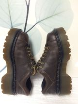 Brown USL6 Casual 004 AW 8312 Martens Dr Oxfords UK 5 4 USM IqUF4T