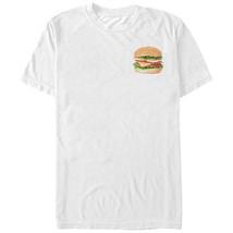 Lost Gods Cheeseburger Love Mens Graphic T Shirt - $10.99