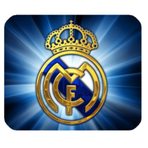 Mouse Pad Real Madrid Logo Spain Football Club In Blue Sports Design Animation - $9.00