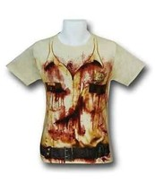 Authentic The Walking Dead Rick Police Uniform Costume Adult T Tee Shirt L - $16.99
