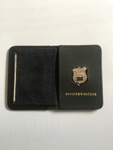 Police Officer Father Generic Mini Shield  Leather ID Wallet - 2018 - $23.76