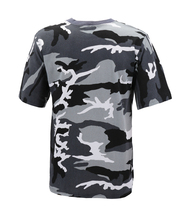 Men's Made in USA Crewneck Camo 100% Cotton Shirt Lightweight Army T-shirt image 6