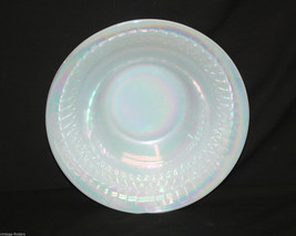 """Old Vintage Moonglow by Federal Glass 8-1/2"""" Bowl Shell Pearl Iridescence Design - $19.79"""