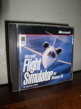 Microsoft Flight Simulator for Windows 95 (CD, CD Key, No Manuals) - $8.95