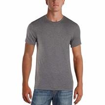 Alfani Mens Short Sleeve Heathered T-Shirt Gray S - $14.92