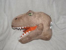 Universal Studios Jurassic Park World Dinosaur Stuffed Plush Hanging Wall Bust - $49.49