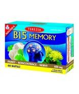 TEREZIA - B15 MEMORY 600mg - 60 CAPS - $35.00