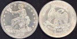 **REPLICA**1875-S U. S. Trade Dollar - $16.95