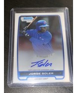 Jorge Soler Royals 2012 Bowman Chrome Prospect Rookie Card RC Auto *Mint* - $37.39