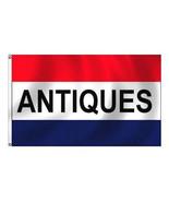 2 ANTIQUES FLAG FL013 flags advertise banner 3x5 antique old vintage sig... - $9.49