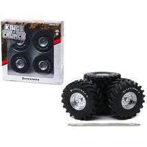 48-Inch Monster Truck Firestone Wheels & Tires 6 piece Set Kings of Crun... - $28.91