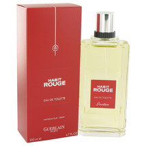 Guerlain Habit Rouge Cologne 6.8 Oz Eau De Toilette Spray image 6