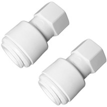 "Pack of TWO 3/8"" Faucet Quick Connect Couplers - $10.35"