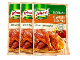 Knorr Chicken seasoning: GOLDEN BROWN CRISPY Pack of 3 FREE SHIPPING - $9.36