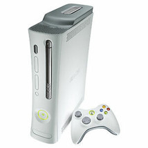 Microsoft Xbox 360 Pro 20GB Console Matte White TESTED System Gaming BUNDLE Used - $179.99