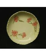 "Antique Haviland Limoges France 3"" Butter Pat Plate Pink Cornflower Scal... - $14.84"