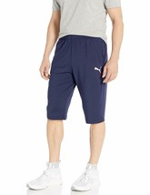 PUMA Men's Standard Chivas 3/4 Training Pants with 2 Side Pockets with Zip - $59.94