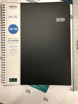 Blue Sky Plastic Cover 2020 Planner 11.5 X 8 Black - $17.81
