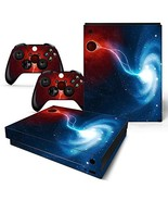 Skin Sticker Decal Cover for Xbox One X Console and 2 Controllers New St... - $13.24