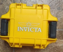 Invicta one slot dive case yellow (no watch) - $33.00