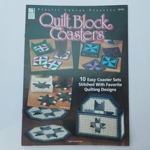 Plastic Canvas Projects Quilt Block Coasters Designed by Laura Scott - $11.39
