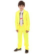 Child's Deluxe Party Suit Costume   Yellow Cosplay Costume HC-385 - $41.85