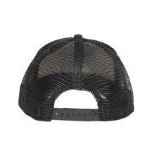 Goorin Bros Mesh Cap Animal Farm Game Changerl Black Sheep Leather Trucker Hat image 3