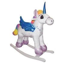 Charm 82513 Kids Rainbow Pegacorn Unicorn/Pegasus Plush Rocker Rocking H... - $88.95