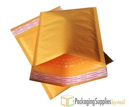 "250 #00 5x10 KRAFT BUBBLE MAILER PADDED ENVELOPES 5""x10"" - $29.35"