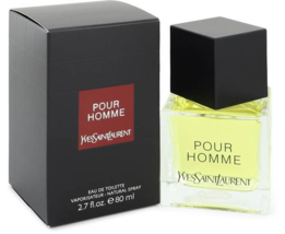 Yves Saint Laurent Laurent Pour Homme 2.7 Oz Eau De Toilette Spray image 1