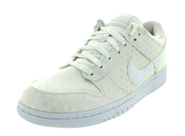 NIB Nike Dunk Low White Skate Casual Sneakers Leather Women's Shoes 3178... - $49.99