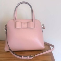 Kate Spade Maise Leather Bow Satchel ~ Rosy Cheeks Pink ~ NWT Matthews S... - $172.66 CAD