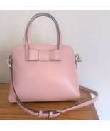 Kate Spade Maise Leather Bow Satchel ~ Rosy Cheeks Pink ~ NWT Matthews S... - $129.95