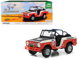 1966 Ford Baja Bronco #37 BFGoodrich 1/18 Diecast Model Car by Greenlight - $88.42