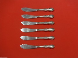 "Wild Rose by International Sterling Silver Trout Knife Set 6pc. Custom 7 1/2"" - $366.80"