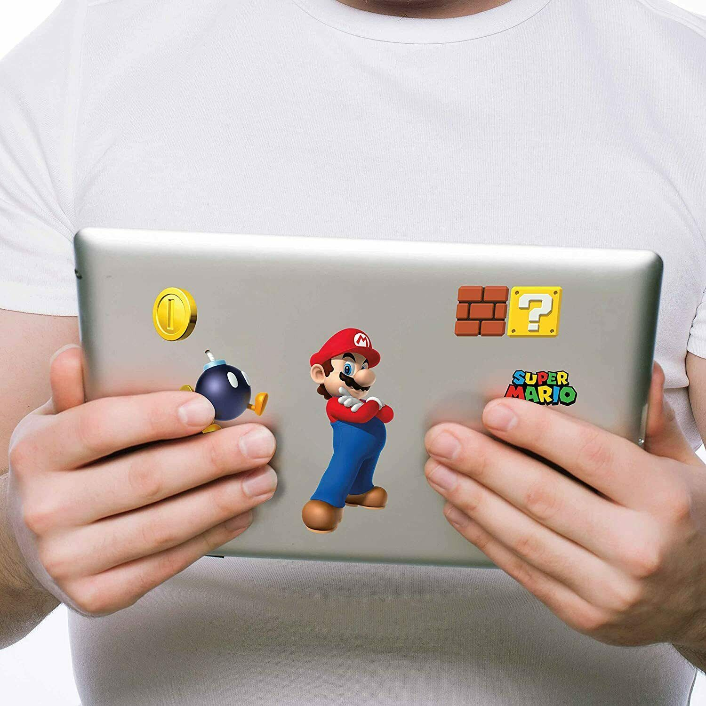 Controller Gear Super Mario Bros. Tech Decals Pack (Set of 6) - Mario Pack