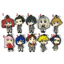 Anime DARLING in the FRANXX Rubber Strap Keychain Keyring Charm 02 Zero ... - $4.74+