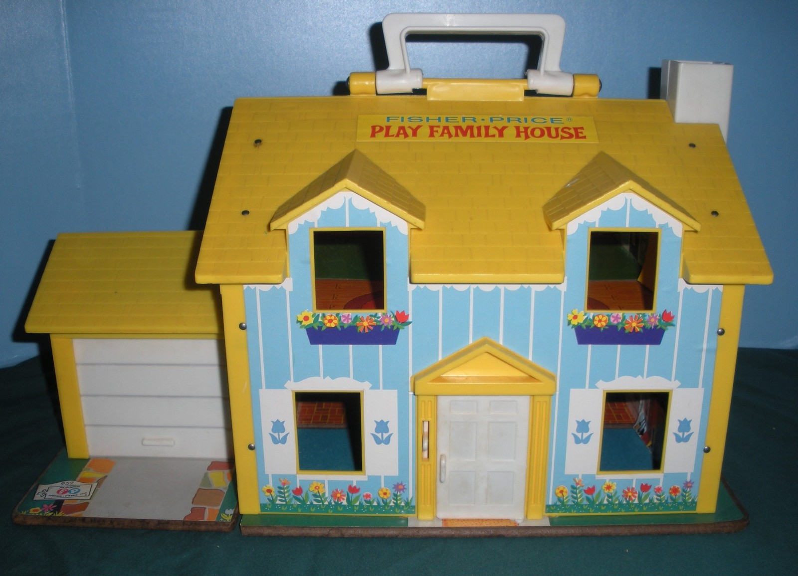 Vtg. Fisher Price Little People #952 Yellow House Comp.+ BONUS/ EXC++-NR MT  (P) image 4
