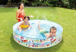 INTEX 5ft X 10in Fun Beach Snapset Instant Kids Childrens Swimming Pool ... - $19.79