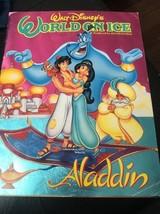 Walt Disney's World On Ice Aladdin Program 1993 Book Cynthia Covll - $23.00