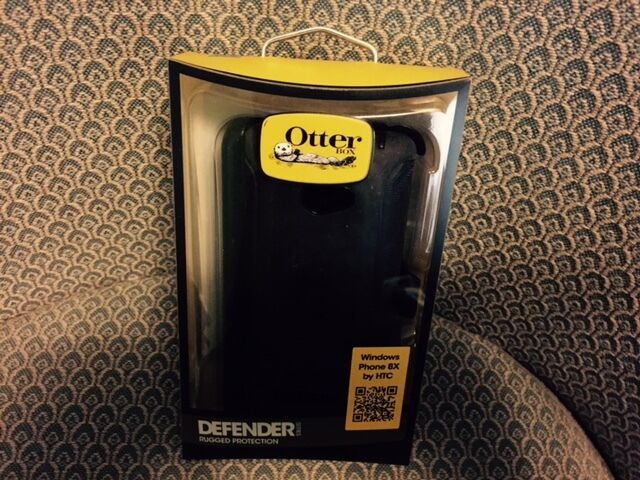 OtterBox Defender Series Black Case for HTC Windows Phone 8X