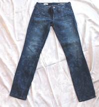 Gap 1969 Always Skinny Denim Jeans Size 25 Floral Print - $14.85